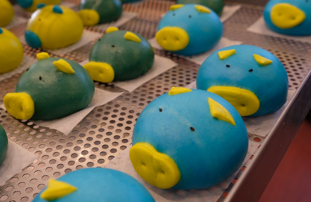 [台南/宅配]東區 老麵發酵 遇見簡單平凡健康的幸福 養生手作饅頭 客製造型饅頭