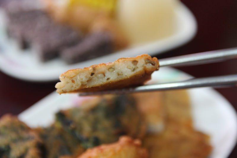 [台南]中西區 武聖夜市旁的台式下午茶點心 原味旗魚黑輪天婦羅關東煮