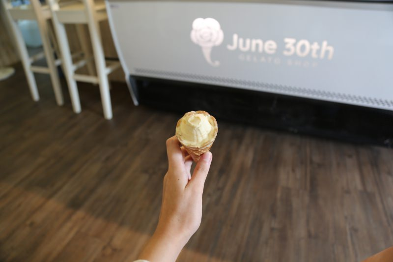 [台南]安平冰品推薦 六月三十義式冰淇淋 台南冰淇淋IG打卡動物造型、玫瑰冰淇淋 真材實料好好吃