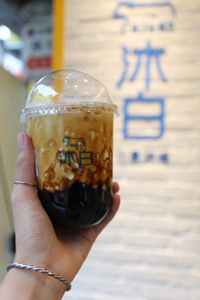 [台北]通化美食飲料推薦 沐白小農台北通化店 小農鮮乳新鮮直送