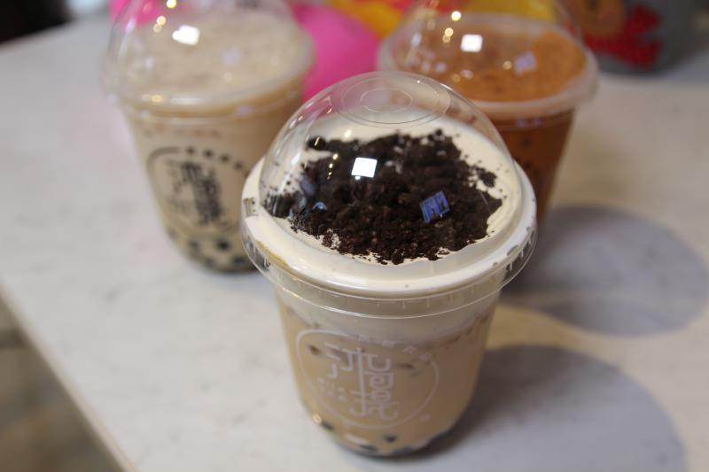 [台北]西門町飲料推薦沐可提 MILK TEA 好喝的黑糖珍奶 辦公室下午茶飲料外送
