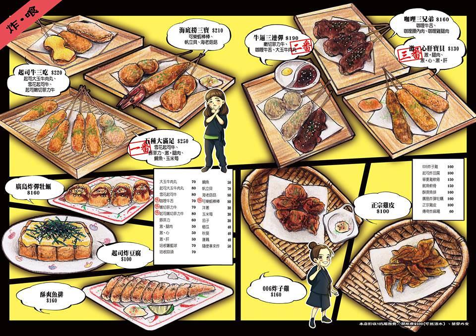 [台北]行天宮居酒屋推薦 你回來了型男食堂 平價串燒下班小酌聚會