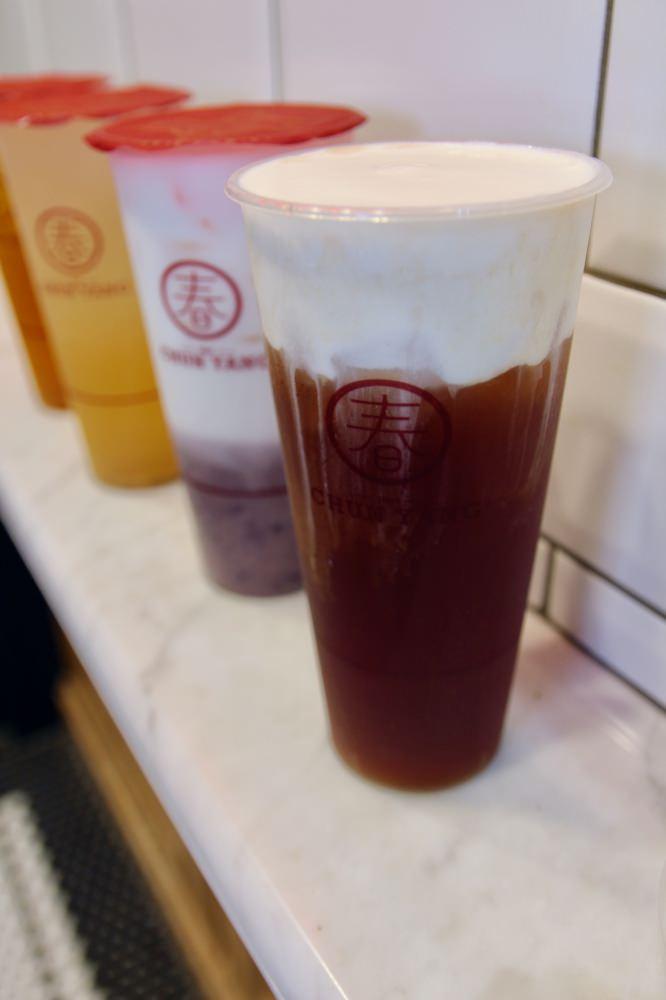 [台北]飲料推薦 春陽茶事 辦公室飲料外送必點烏龍茶系列 夏日新品桂花蜜好清爽解渴