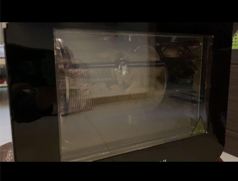 [開箱文]SANSUI 山水12L旋風溫控智能氣炸烤箱SAF-553W 360°自動轉烤串燒烤雞超簡單、不鏽鋼內膽好清洗、氣炸鍋料理食譜