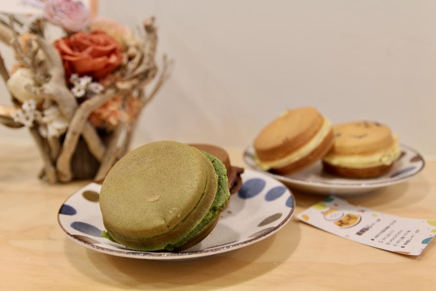 台南下午茶推薦 順順點心 布丁泡芙紅豆餅 辦公室外送甜點 好吃的脆皮泡芙 料多紅豆餅