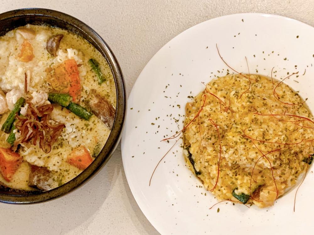 台南友愛市場 気紛れ kimagure 日本主廚的義式燉飯、綠咖哩好吃推薦 王記友愛膠原湯