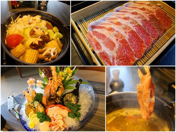 [高雄]頂級鍋物享受。美味 江戶龍鍋物料理