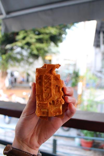 佳佳西市場雞蛋糕:[台南]藍晒圖變成雞蛋糕了???佳佳西市場雞蛋糕