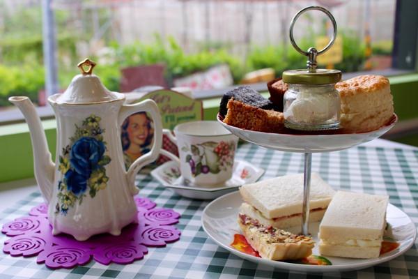 Daisy's Tearoom:[台南]正統英式下午茶 超厲害的司康與布朗尼  Daisy's Tearoom