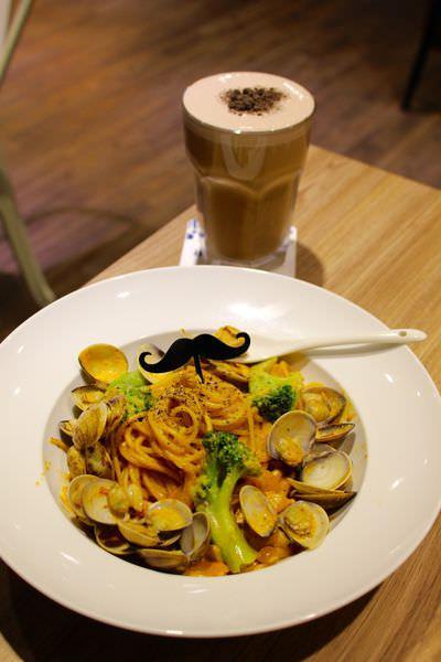 [台北]淡水 淡江校園美食|早午餐|下午茶|義大利麵|宵夜|聚餐好所在 WHO'S TEA鬍子茶-淡水北新店